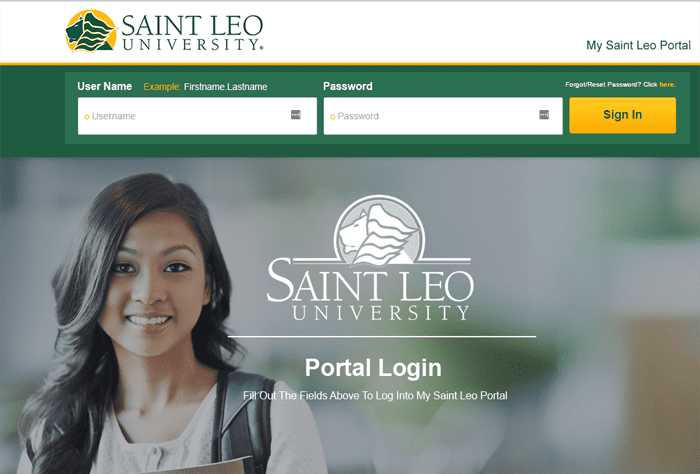 My Saint Leo Login Portal