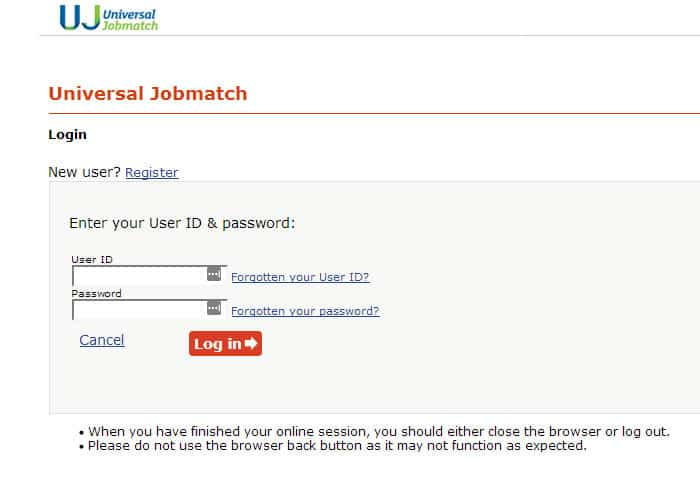 Universal Jobmatch Login Guide