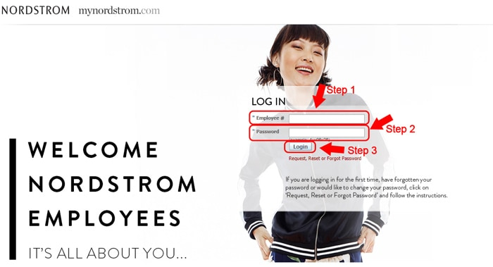 my nordstrom login