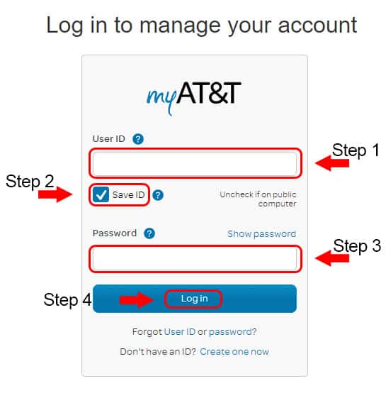 my att members login