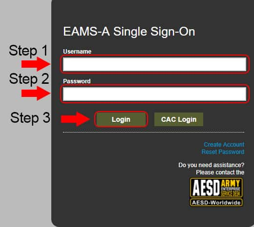 army knowledge online eams-a login