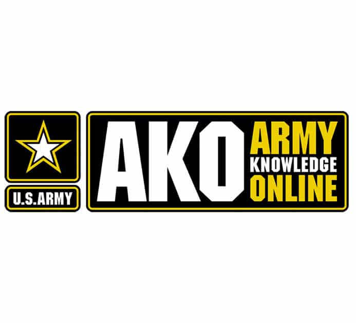 AKO Webmail Login at www.us.army.mil