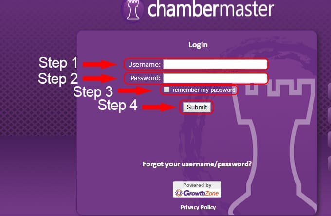 chambermaster account login
