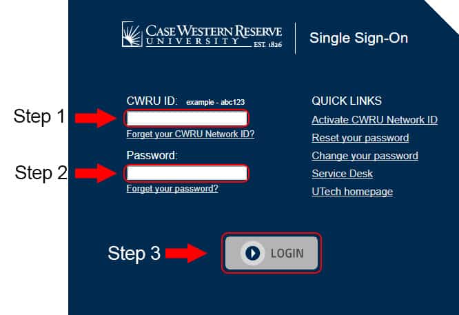 case western reserve university webmail login
